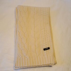 J. Crew Cable Knit Men's Scarf
